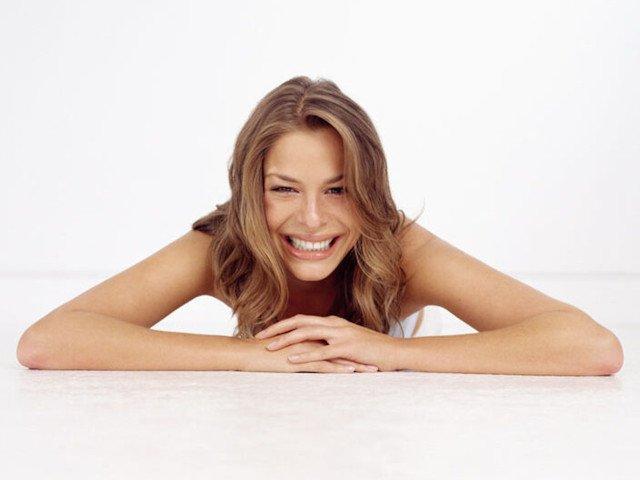 Invisalign model smiling