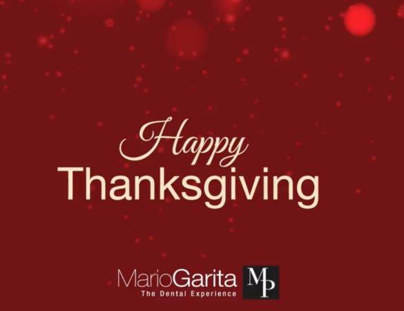 Happy Thanksgiving 2020 from Mario Garita Dental Clinic
