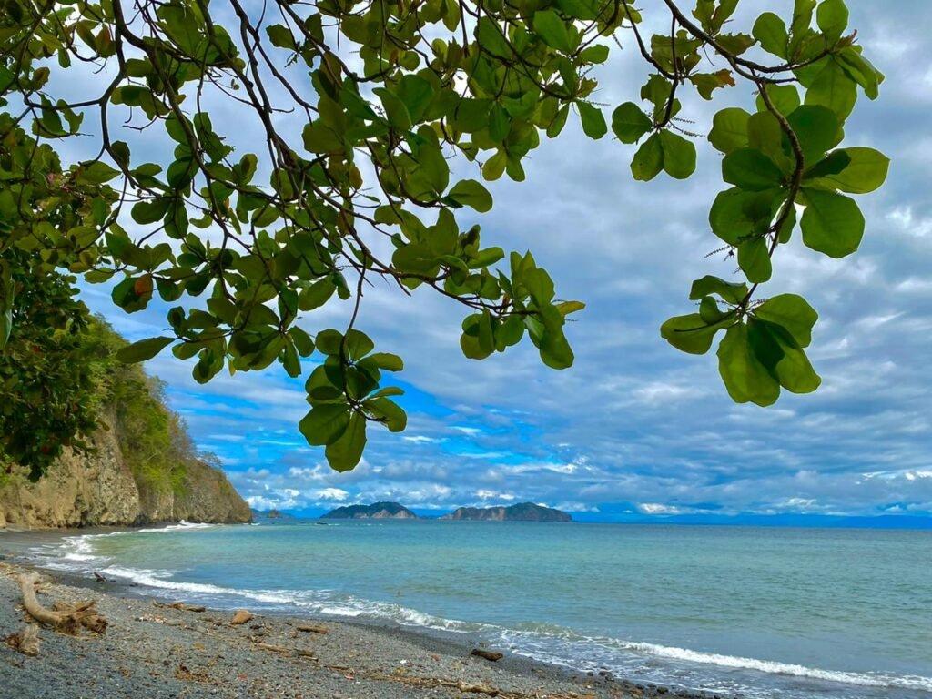 Playa en Costa Rica por la Doctora María Valenciano